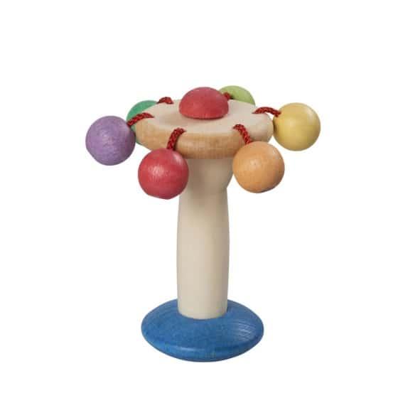 walter houten rammelaar carrousel 12 cm multicolor biologisch 357481 1580198607