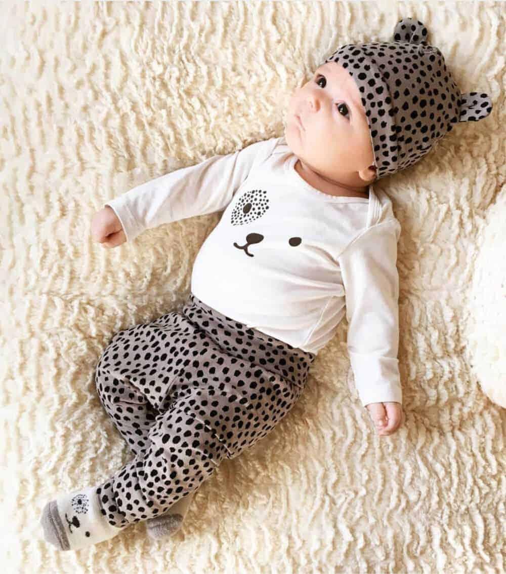 driedelig kledingsetje tijger