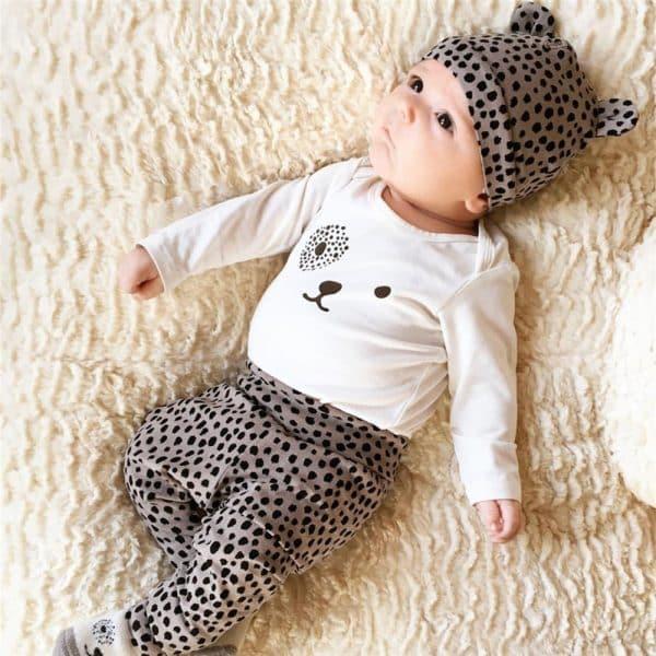Baby kleding set tijger