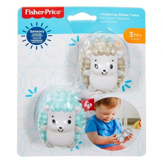 fisher price rammelaar egel shaker twins junior wit groen bruin 2 387773 1587568820