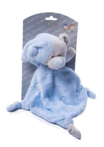 gamberritos knuffeldoekje 23 cm beertje blauw 355142 1579676812