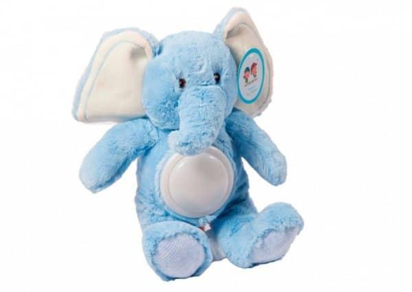 gamberritos lichtgevende knuffelolifant 36 cm blauw 367431 1583396637