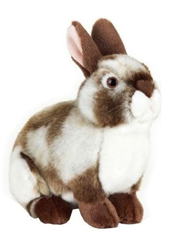 lelly knuffel konijn 20 cm donkerbruin 123543