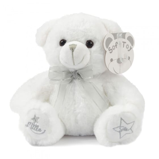 soft touch knuffelbeer little star 25 cm wit 338656 1574766727