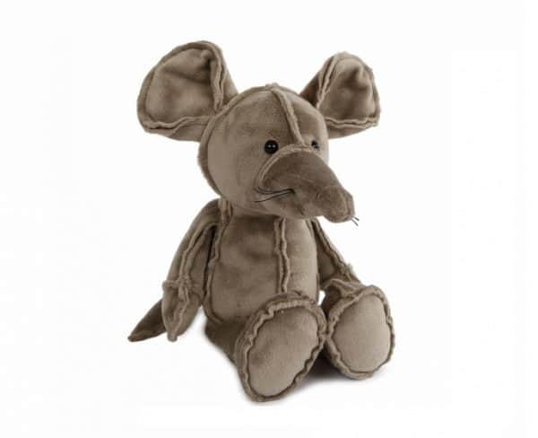 take me home knuffel muis junior 19 cm pluche grijs 394937 1588757568