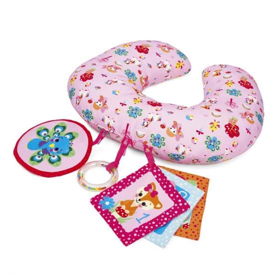 chicco speelkussen junior 40 cm pluche roze 428525 1593845576
