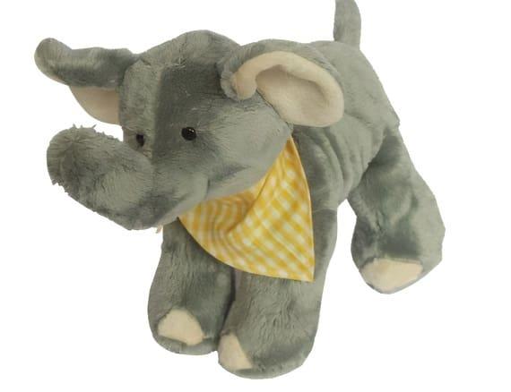 clemens knuffel klein olifantje junior 25 cm pluche grijs 450531 1597933551