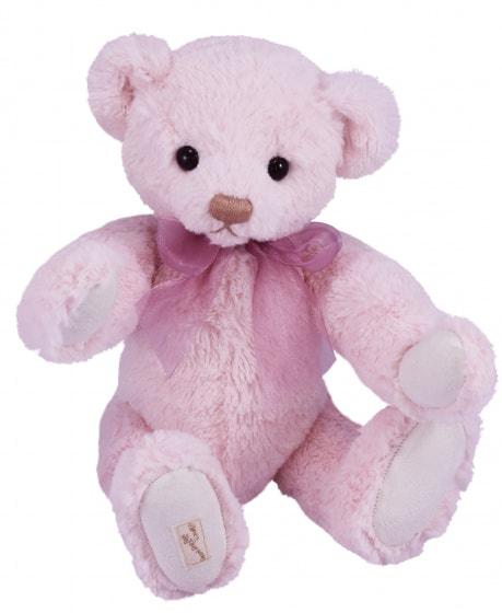 clemens knuffelbeer aurora meisjes 35 cm microfiber pluche roze 450595 1597991646