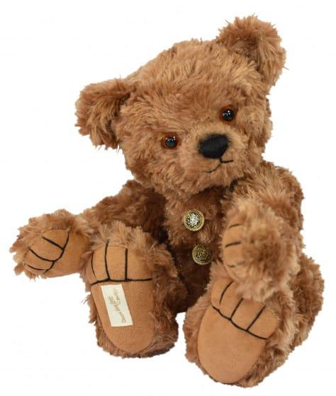 clemens knuffelbeer maple 30 cm microfiber pluche bruin 450647 1597993963