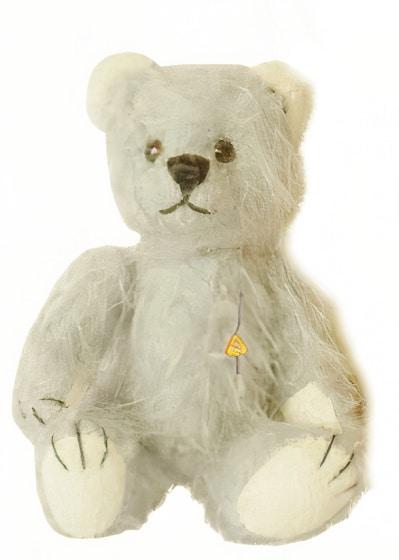 clemens knuffelbeer miniatuur teddy belle 9 cm pluche wit 449895 20200910091442