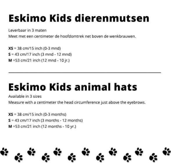 eskimo kids baby peutermuts konijn junior bruin 3 348750 20200121142719