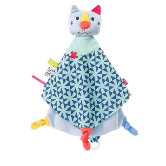 fehn knuffeldoekje color friends kat junior 35 cm pluche 443961 1596552622