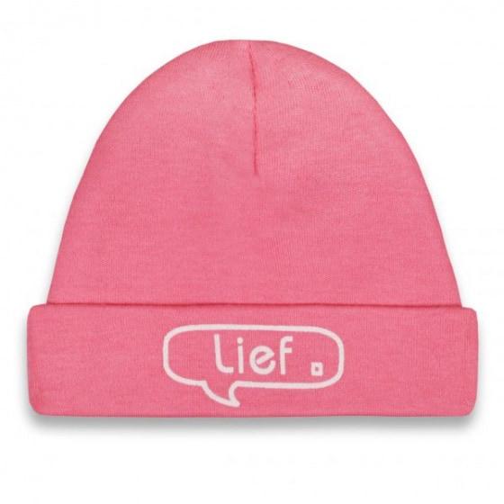 funnies babymutsje lief junior katoen roze 450368 1597924729