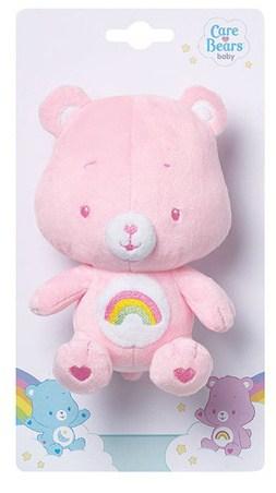 jemini knuffelbeertje rammelaar pluche roze 16 cm 2 164074