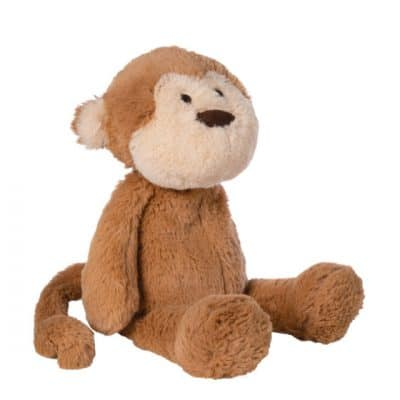manhattan toy knuffel lovelies mocha monkey 1524 cm pluche bruin 2 409475 1591170125