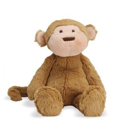manhattan toy knuffel lovelies mocha monkey 19 cm pluche bruin 409455 1591169230