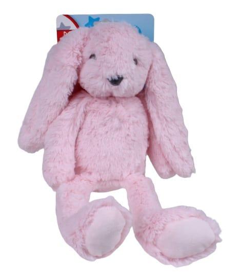 mini club knuffel konijn junior 37 cm pluche roze 474659 1602503502