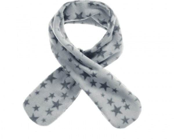 playshoes fleece sjaal met lus grijs met sterren junior 82 cm 336031 1574084082