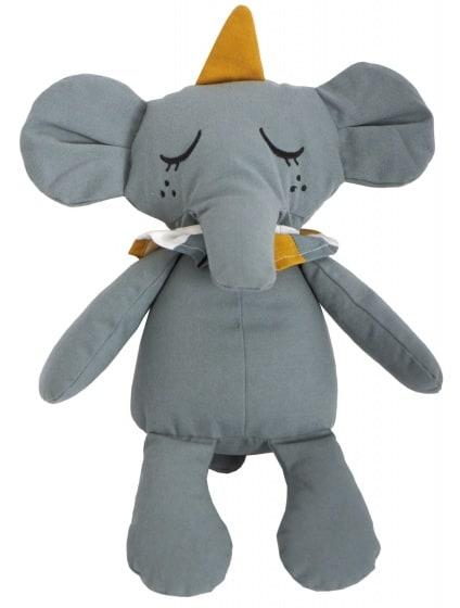 roommate knuffeldier eddy the elephant biologisch 40 cm groen 345660 1576835926