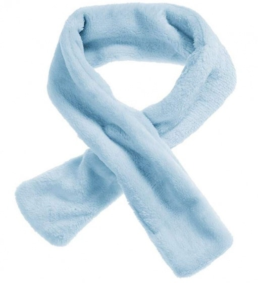 schnizler sjaal all season met lus fleece aqua junior one size 365510 1582796440