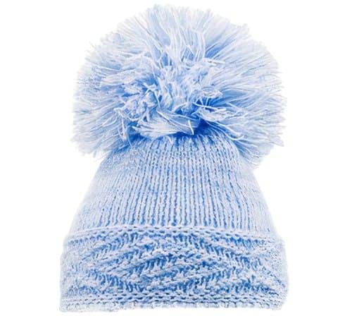 soft touch babymuts diamond jongens acryl blauw 470890 1601722473