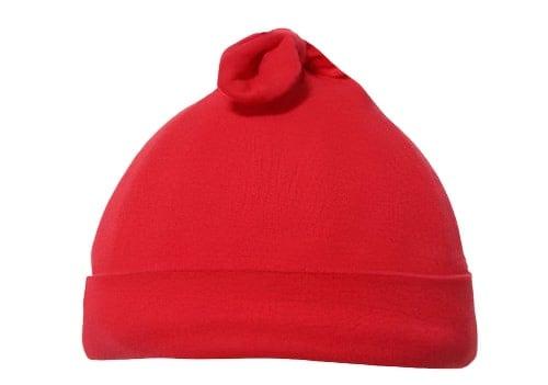 soft touch babymuts knotty junior katoen rood 470857 1601718661