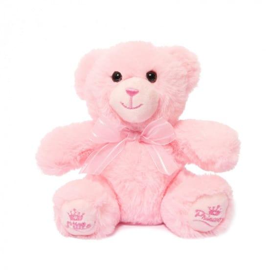 soft touch teddybeer little princess meisjes 15 cm polyester roze 429720 1594122152