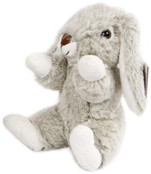 take me home knuffel konijn zitttend pluche 20 cm grijs wit 445063 20200808133713