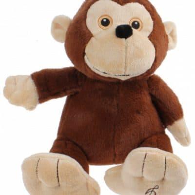 tender toys knuffel wildlife pluche aap 30 cm bruin 265607 20181212111226