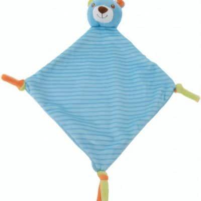 tender toys knuffeldoekje blauwe beer 37 cm 323980 1571218250
