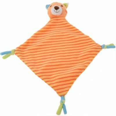 tender toys knuffeldoekje oranje beer 37 cm 323977 1571218107