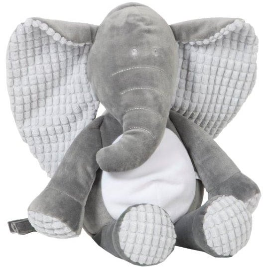 vaco knuffel billy olifant 80 cm polyester grijs 472053 1601979820