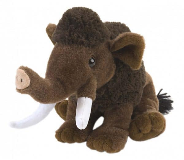 wild republic cuddlekins knuffel mammoet junior 20 cm pluche bruin 424167 1593087050