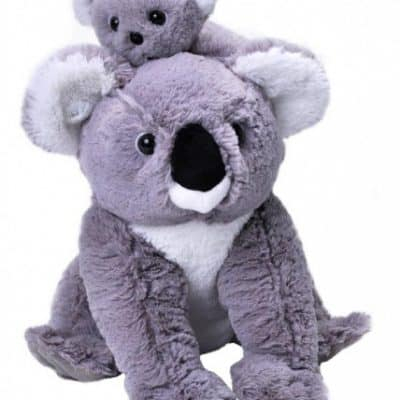 wild republic knuffel mama baby koala 30 cm pluche grijs 399320 1589537647
