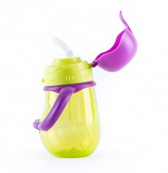 baby monsters drinkbeker met rietje 300 ml groen paars 2 361770 1581329658