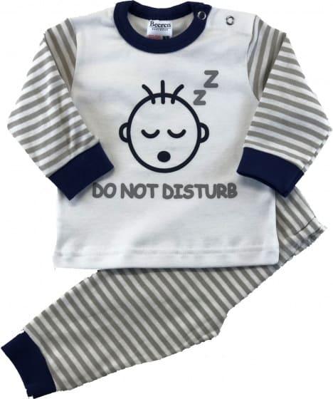 beeren babypyjama do not disturb grijs wit 329833 1572425912 4
