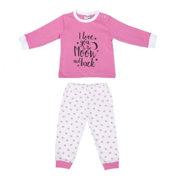 beeren babypyjama roze wit 329792 1572424308