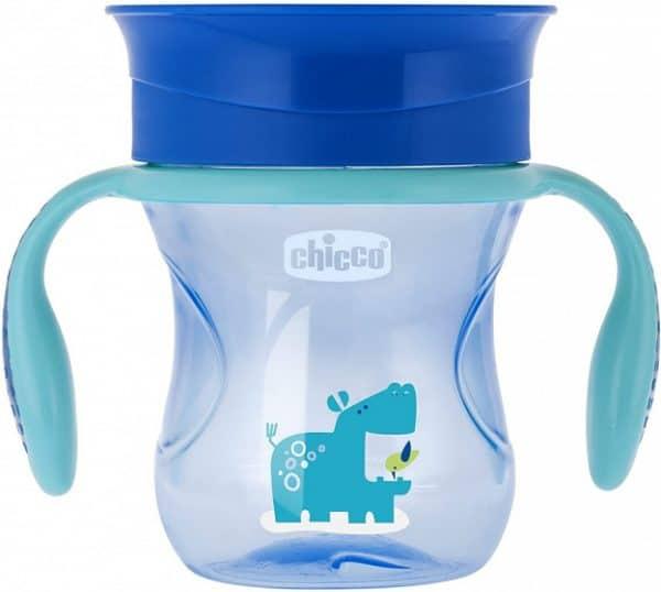 chicco drinkbeker perfect jongens 200 ml siliconen blauw 431061 1594296765