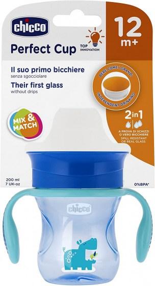 chicco drinkbeker perfect jongens 200 ml siliconen blauw 4 431061 1594296767