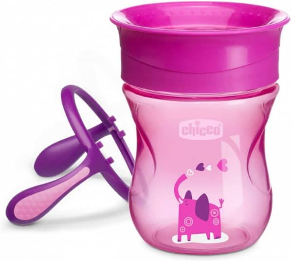 chicco drinkbeker perfect meisjes 200 ml siliconen roze 2 431053 1594296439
