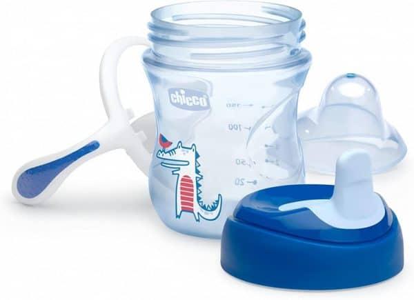 chicco drinkbeker training cup junior 200 ml siliconen blauw 2 431025 1594295527