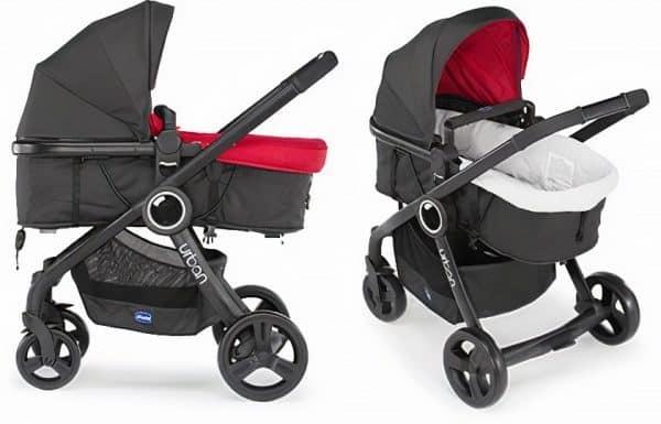 chicco kinderwagen 3 in 1 urban plus aluminium rood zwart 3 442797 1596275084