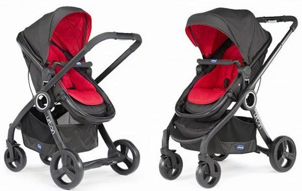 chicco kinderwagen 3 in 1 urban plus aluminium rood zwart 4 442797 1596275084