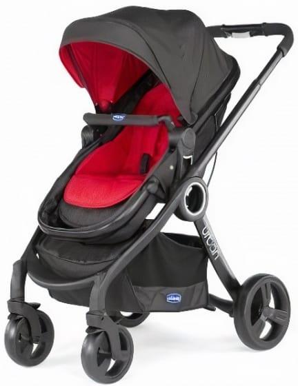 chicco kinderwagen 3 in 1 urban plus aluminium rood zwart 5 442797 1596275085