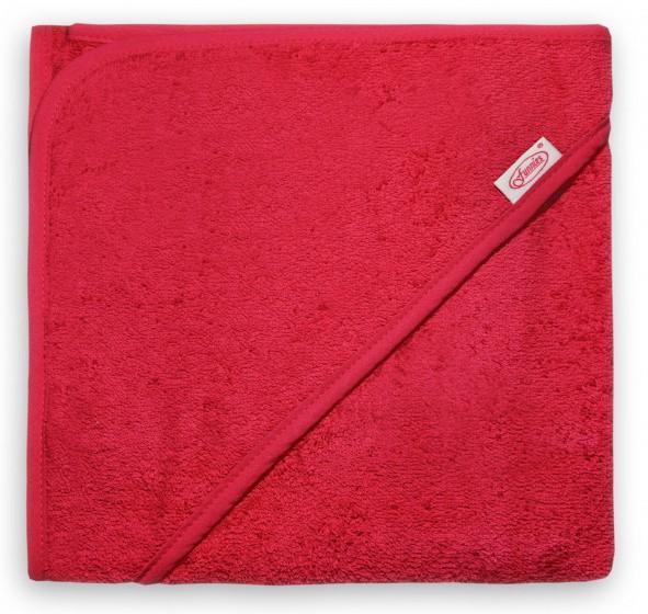 funnies badcape junior 100 cm katoen rood 448945 1597674374