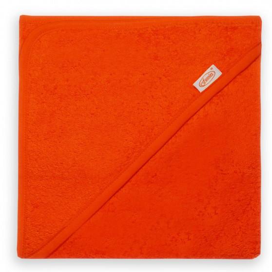 funnies badcape junior 80 cm katoen oranje 448927 1597673160