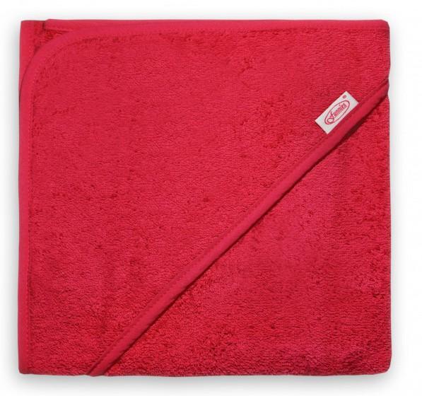 funnies badcape junior 80 cm katoen rood 448853 1597668506