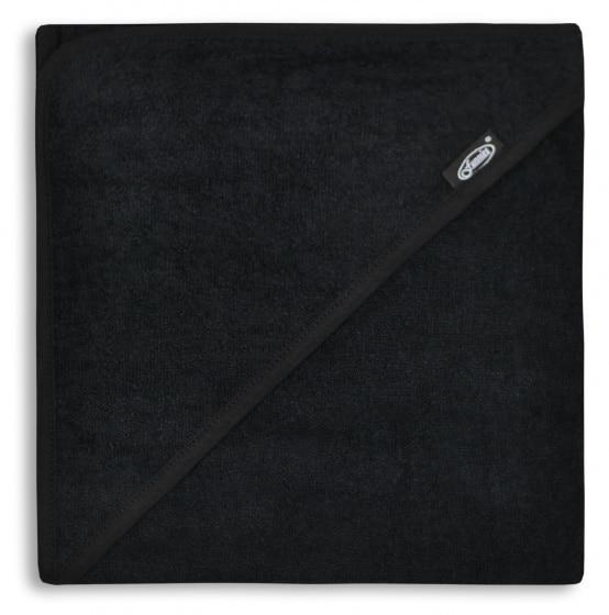 funnies badcape junior 80 cm katoen zwart 448811 1597666088
