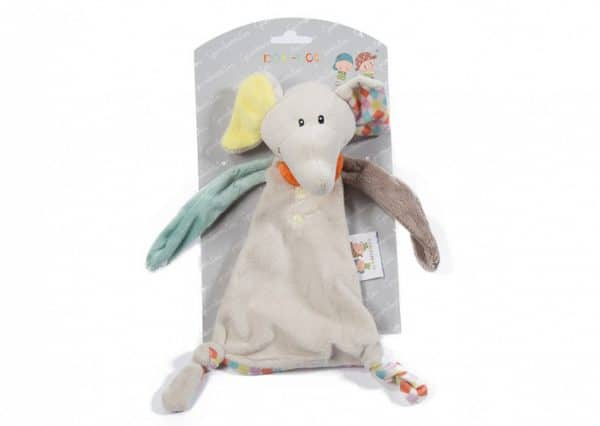 gamberritos knuffeldoekje 23 cm olifant multicolor 382878 1586871323