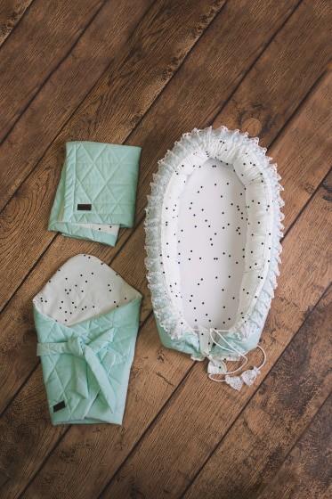 kinderhop cadeauset babys mintgroen wit katoen 3 delig 6 463486 1600671113